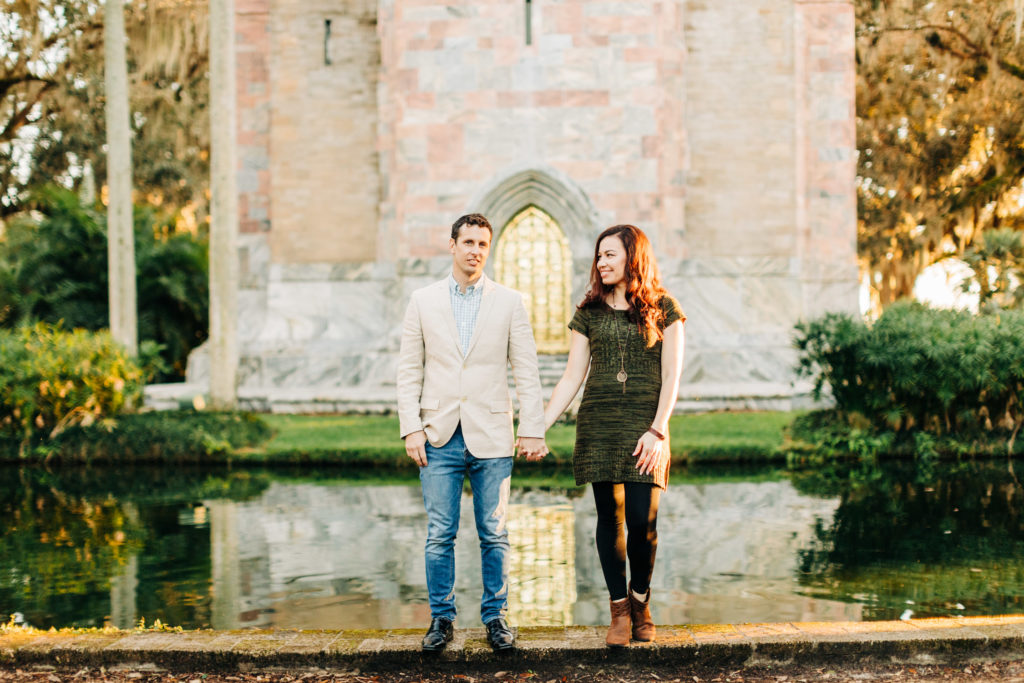 Bok Tower Engagement