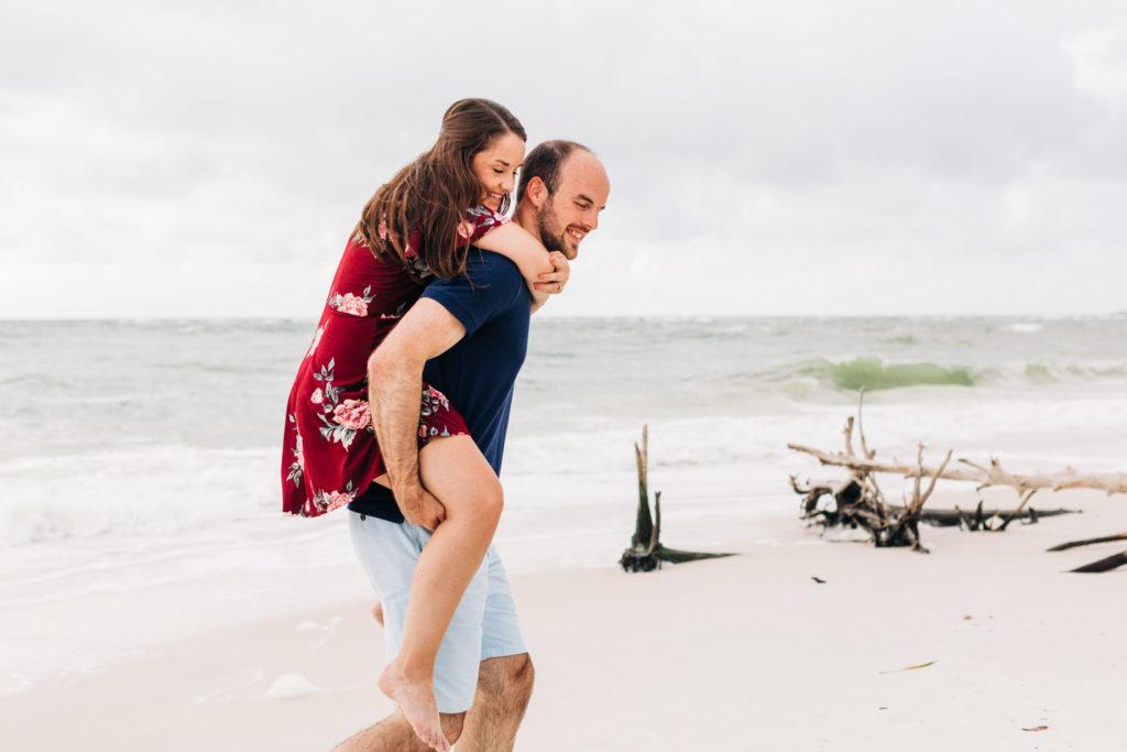 Beer Can Island Engagement, Longboat Key FL