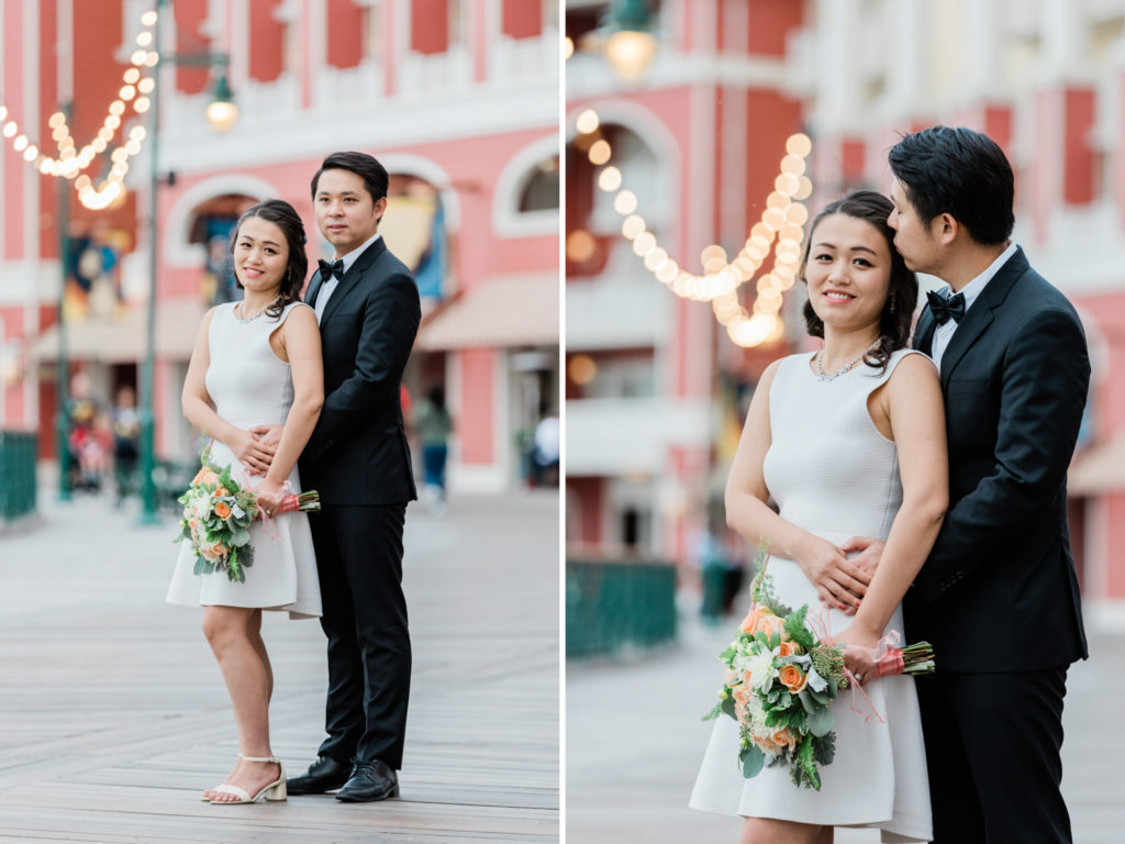 Disney's Boardwalk Elopement Photographer