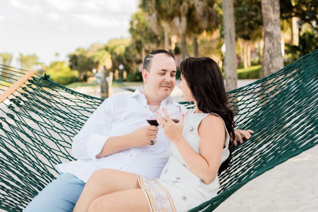 Disney's Caribbean Beach Resort Engagement Photographer