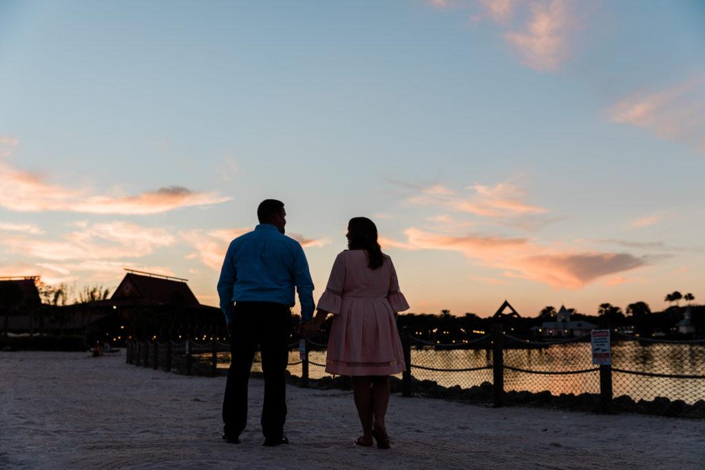 Disney's Polynesian Resort enngagement