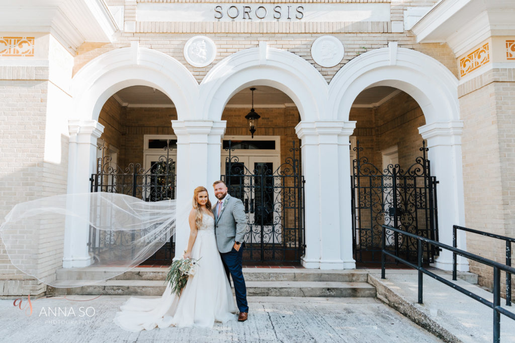Sorosis Building, Lakeland, Fl Wedding Photographe
