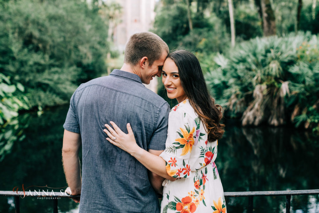 Bok Tower Gardens Engagement