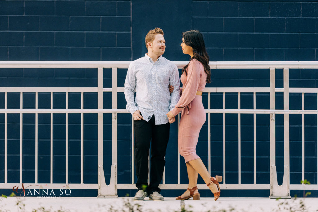 Downtown Orlando Rooftop Engagement